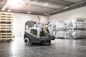 Nilfisk SW5500 Ride on Sweeper - National Sweepers