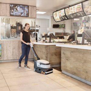 Nilfisk SC250 - Walk behind scrubber / sweeper - National Sweepers