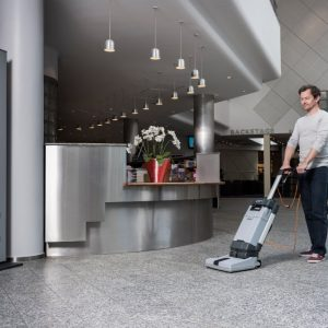 Nilfisk SC100 Upright Floor Scrubber - National Sweepers