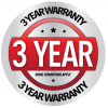 National Sweepers 3 Year Warranty - Some Conditions Apply